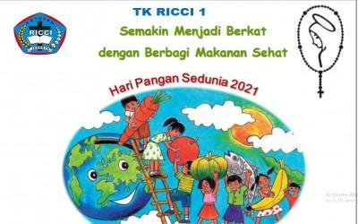Perayaan HPS ( Hari Pangan Sedunia ) bersama TK RICCI 1